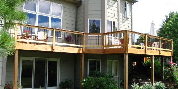Regan Total Construction is a premier Trex Platinum Pro deck design and deck builder.