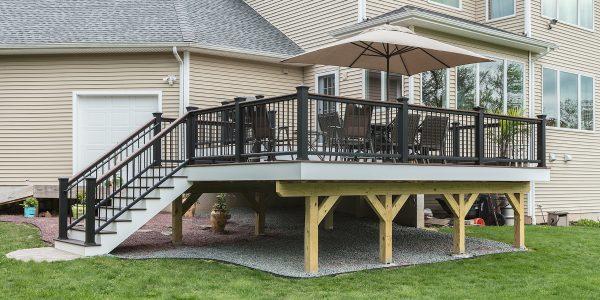 Trex Transcend Deck with Trex Aluminum Handrail's